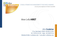 Alter Evolution - Organisme de formation