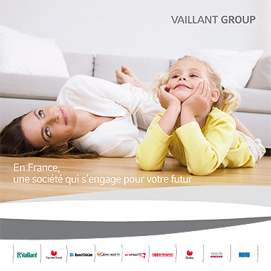 brochure institutionnelle Vaillant Group France